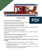 ABCES Jornada de Trabajo