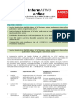 Informativo Online n° 47