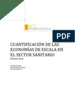 Cuantificacion de Economias de Escala