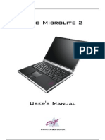 Ergo Microlite 2 User Manual
