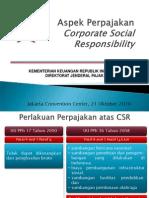 CSR Perpajakan
