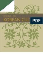 21038708 Guide to Korean Culture English