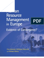 Human Resource Management in Europe