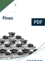 Aisladores Tipo Pin Sencillo