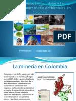 Organizaciones Medio Ambientales y Las Industrias Mineras en Colombia