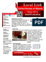 May 2013 Local Link Newsletter