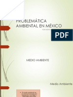 PROBLEMÁTICA AMBIENTAL EN MÉXICO