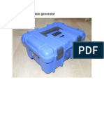 BLUEBOX Portable Generator