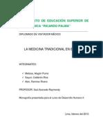 MEDICINA TRADICIONAL EN EL PERÚ