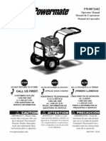 Coleman Power Washer Manual