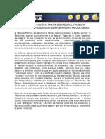 ACSUR - Crónicas del Juicio por genocidio en Guate