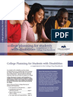 College Planning Manual for Students With Disabilities-1