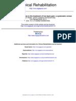 Hydrotherapy Dor Lombar VI 3