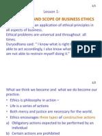 Ethics Lesson 1