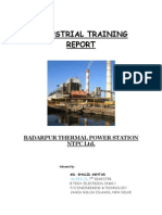 NTPC - Industrial Training Report
