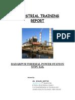 NTPC - Industrial Training Report