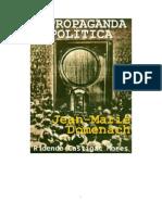 DOMENACH - A PROPAGANDA POLÍTICA