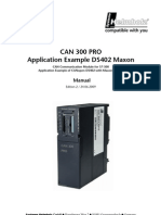 Manual CAN300PRO DS402 Example Maxon 2