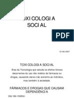 Toxicologia Social 13-08-07