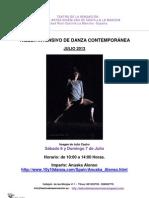 Taller Intensivo de Danza Anuska Alonso-julio-2013