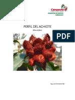 Achiote Perfil Planta