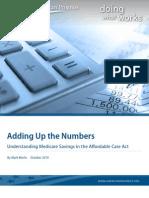 Medicare Aca Report