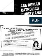 Are Roman Catholics Christians [Tract]
