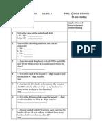 Case Practice Paper - Math