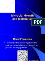 Microbial Growth and Metabolism