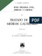 Tratado de Las Medidas Cautelares - j. Ramiro Podetti