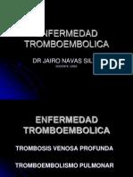 TROMBOEMBOLISMO  2013