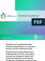High School Science - Equilibrium