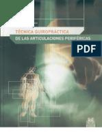 Tecnica Quiropractica de Articulaciones Perifericas Spanish Edition