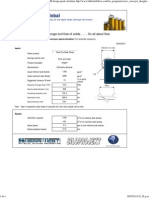 SCREW CONVEYOR Design Speed Calculator