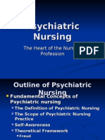 Psychiatric Nursing- Foundations
