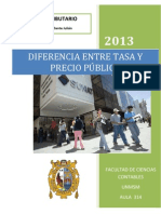DIFERENCIA ENTRE TASA Y PRECIO PÚBLICO (2)