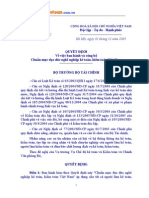 87/2005/QĐ-BTC Chuẩn mực đạo đức nghề nghiệp kiểm toán, kế toán VN