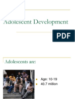 Adolescent Development .ppt