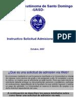 Admisiones en Linea UASD