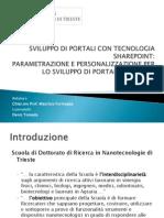 Sviluppo Di Portali Tramite La Tecnologia Share Point - Slide Powerpoint