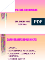 CARDIOPATIAS ISQUEMICAS