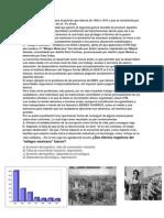 Se Le Llama Milagro Mexicano Al Periodo Que Abarca de 1940 a 1970 y Que Se Caracteriza Por Un Crecimiento Sostenido de Un 5