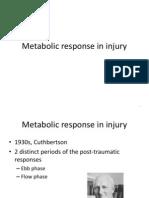 Metabolic Response in Injury