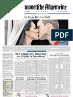 Hannoversche Allgemeine Zeitung 20110430