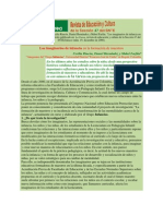 Articulo de La Revista en Educacion TAREA, Para Maestria