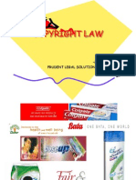 COPYRIGHT - LAW AND PROCEDURE.ppt