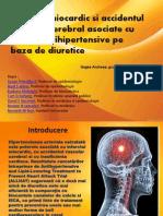 IM si AVC asociate cu terapii antihipertensive