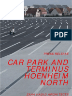 zaha hadid-Car Park and Terminus Hoenheim North