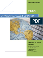Infosys strategic analysis