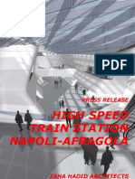 zaha hadid-High Speed Train Station Napoli-Afragola
